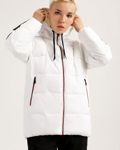 Утепленная куртка белая с подкладкой Finn Flare