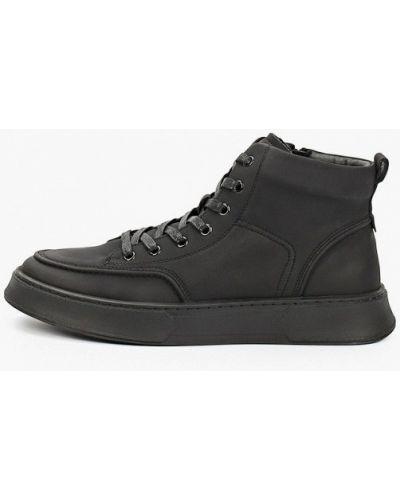 Черные зимние ботинки El Tempo