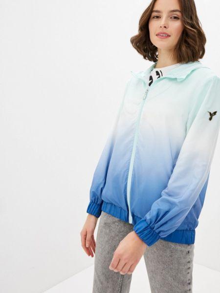 Бирюзовая облегченная куртка Odri Mio