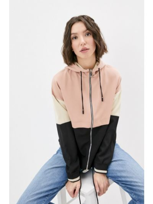 Розовое пальто Adrixx