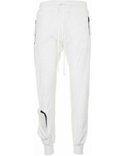 Białe spodnie Thom Krom