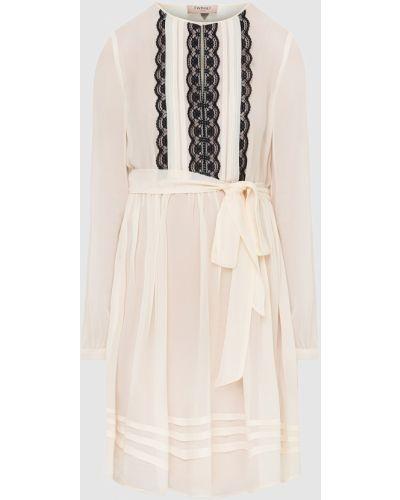 Платье миди - бежевое Twin-set