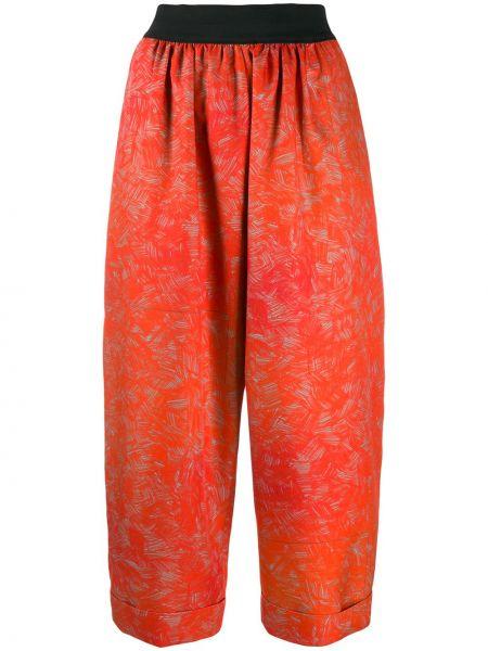 Укороченные брюки с воротником с поясом Rohka