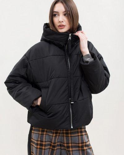 Утепленная куртка - черная Maxa