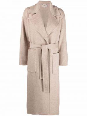 Коричневое пальто с карманами Michael Michael Kors
