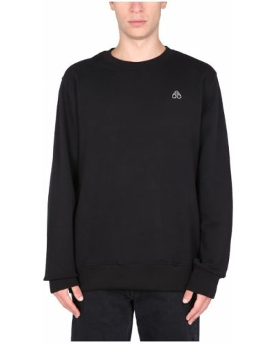 Czarna bluza dresowa Moose Knuckles