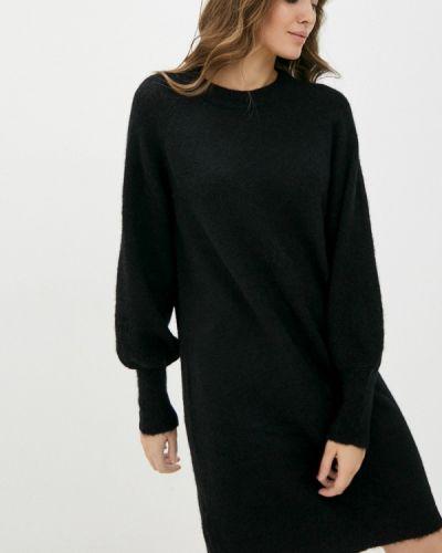 Вязаное платье - черное Selected Femme