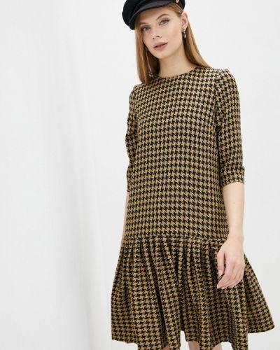 Повседневное платье - бежевое мадам т