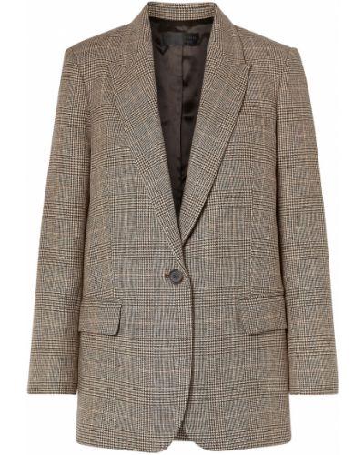 Шерстяной пиджак с карманами на пуговицах Nili Lotan