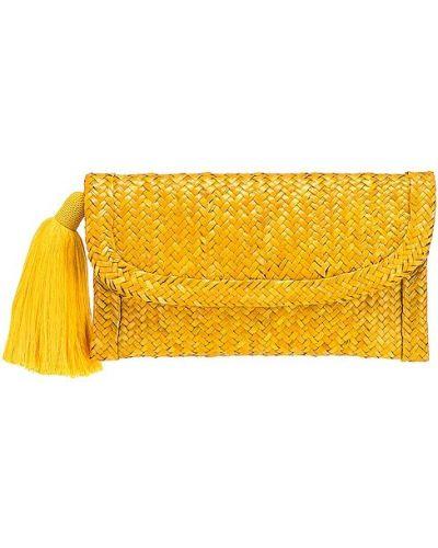 Żółta kopertówka bawełniana Nannacay