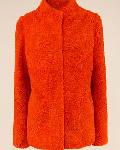 Куртка с мехом - оранжевая Dzhanbekoff