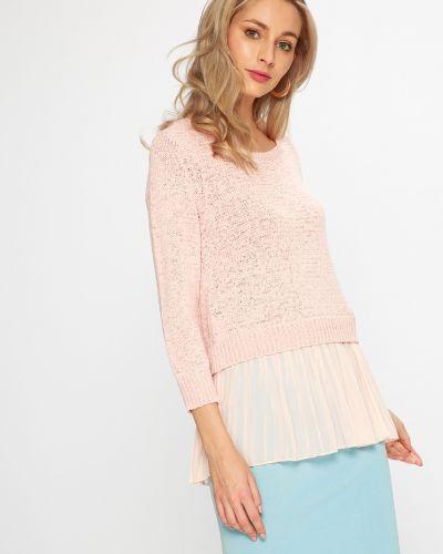 Розовый свитер свободного кроя Silvian Heach