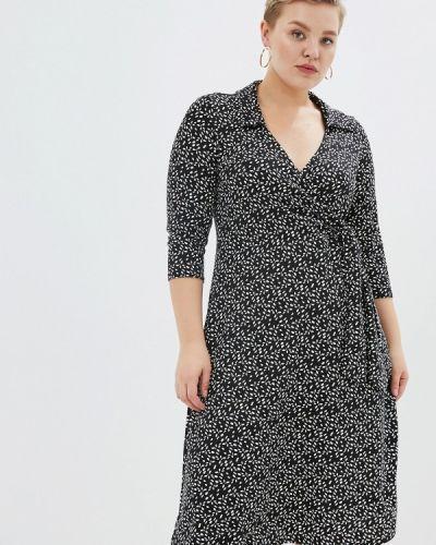 Платье с запахом осеннее Dorothy Perkins Curve