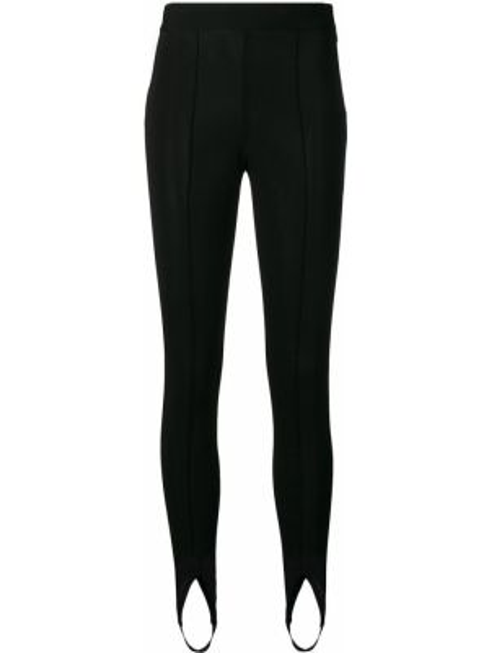 Облегающие черные классические брюки с карманами Givenchy