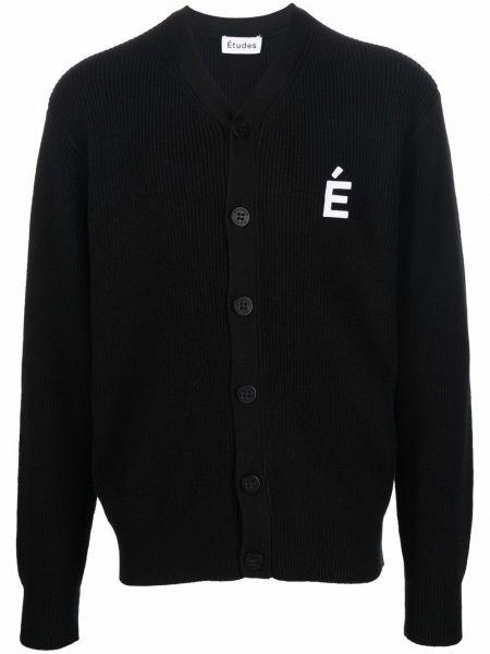 Czarny sweter bawełniany Etudes