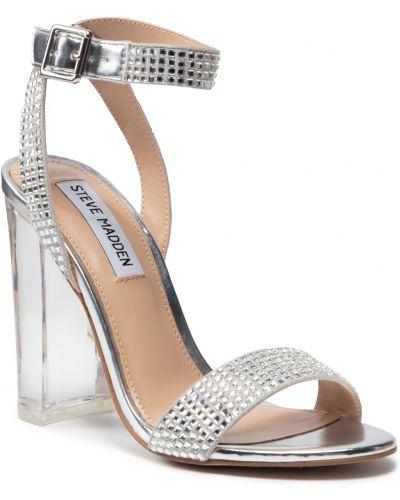 Sandały srebrne Steve Madden