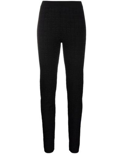 Spodnie sportowe eleganckie - czarne Givenchy