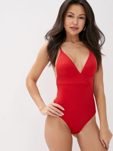 Слитный купальник красный Women'secret