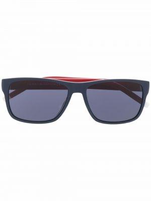 Синие солнцезащитные очки металлические Tommy Hilfiger