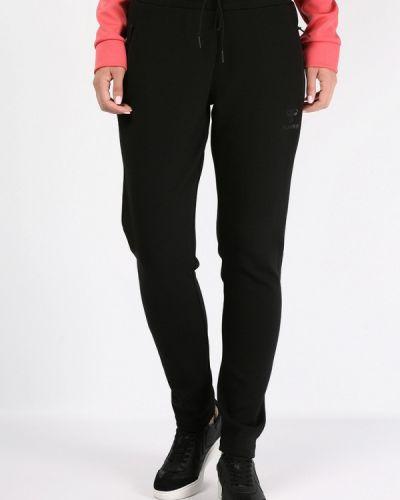 Спортивные брюки черные весенний Hummel