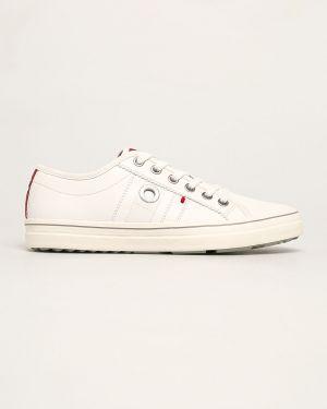 Sneakersy tekstylne ze sztucznej skóry S.oliver