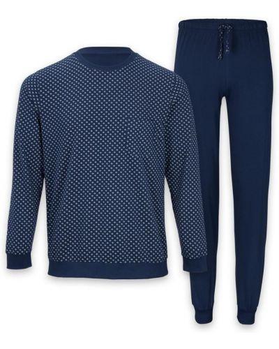 Пижама со штанами - синяя Royal Class