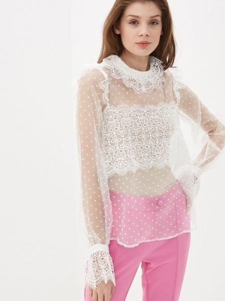 Блузка с длинным рукавом белая весенний Imperial