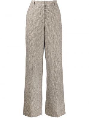 Шерстяные брюки Rosetta Getty