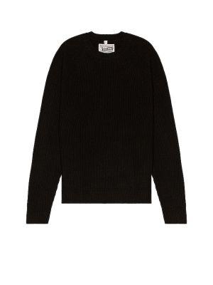 Шерстяной свитер - черный Schott