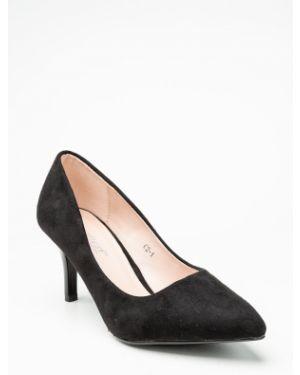 Черные туфли новогодние Meitesi