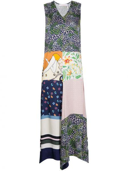 Платье с цветочным принтом пэчворк See By Chloe