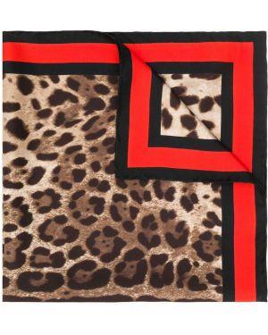 Черный платок Dolce & Gabbana