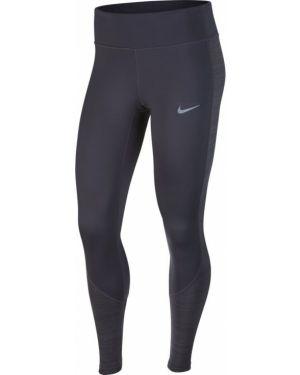 Ciepłe szare rajstopy Nike