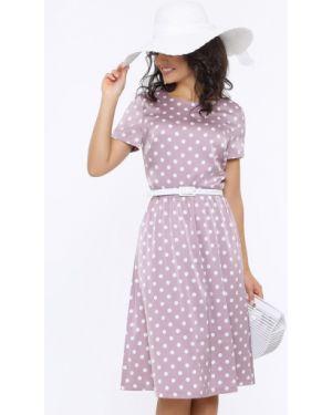 Теплое платье в горошек платье-сарафан Dstrend