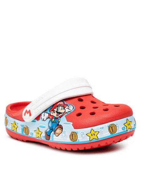 Sandały - czerwone Crocs