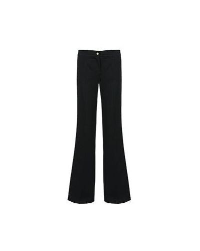 Летние брюки повседневные черные Just Cavalli