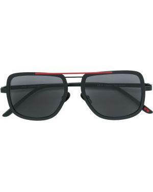 Муслиновые черные солнцезащитные очки La Petite Lunette Rouge