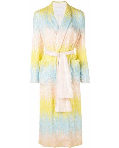 Платье миди с запахом с пайетками Markarian