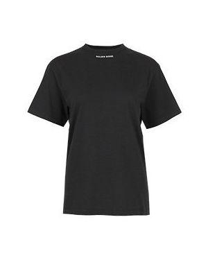 Хлопковая футболка - черная Golden Goose