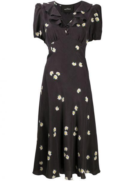 Платье мини миди с V-образным вырезом Marc Jacobs