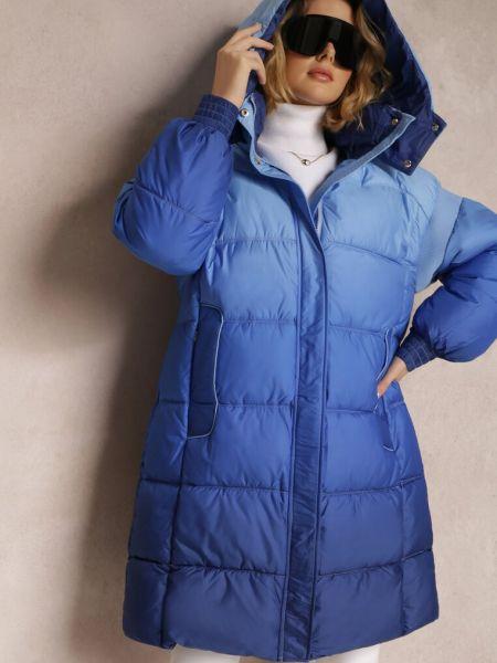 Niebieska kurtka jesienna Renee