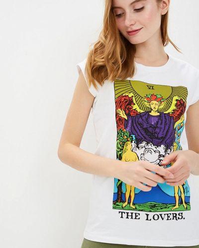 Белая футболка 2019 Silvian Heach