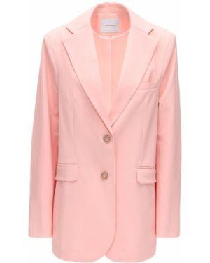 Różowa kurtka wełniana Lesyanebo