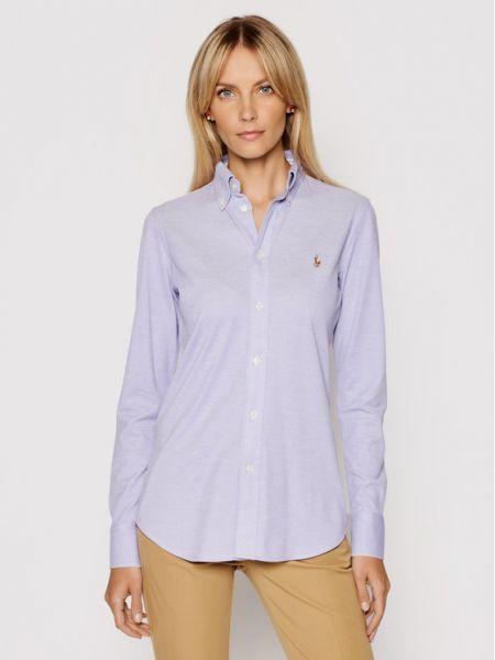 Fioletowa koszula Lauren Ralph Lauren