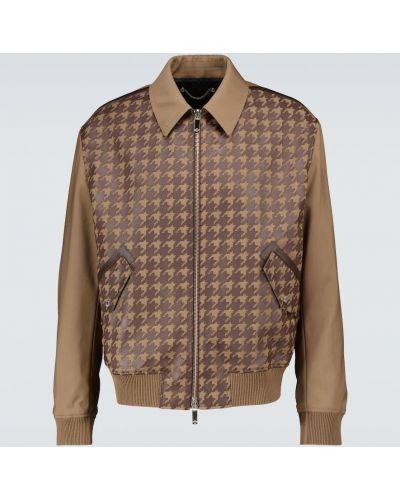 Brązowa klasyczna kurtka Berluti