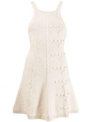 Белое хлопковое платье Alice Mccall