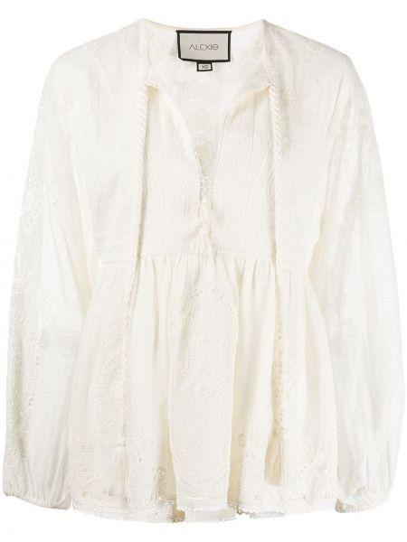 Блузка с вышивкой Alexis