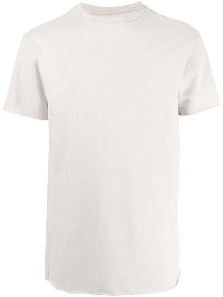 Bawełna z rękawami klasyczna koszula okrągły John Elliott