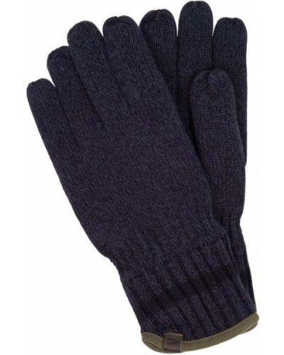 Rękawiczki dzianinowe - niebieskie Camel Active