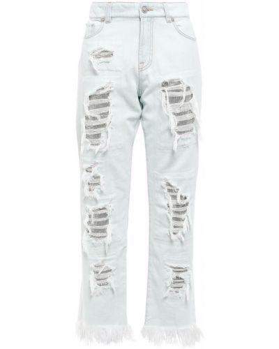 Джинсовые прямые джинсы Versus Versace